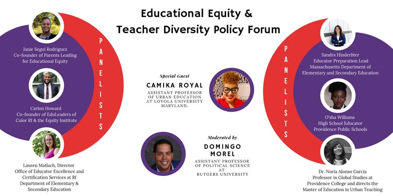 Educational Equity & Teacher Diversity Policy Forum
